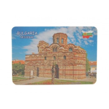 Сувенирна магнитна пластинка - църква