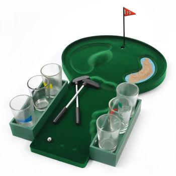 Забавна парти игра за надпиване - мини голф