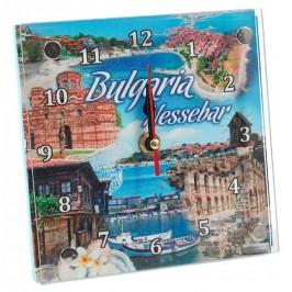 Сувенирен настолен часовник - забележителности в Несебър