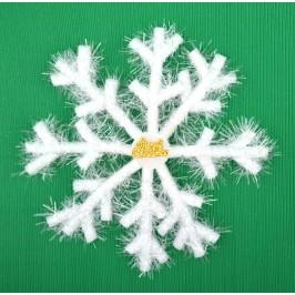 Коледна декорация - снежинка
