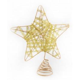 Декоративен коледен връх - звезда