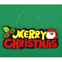 Украса за окачване с коледна фигурка фигурка - Merry Christmas