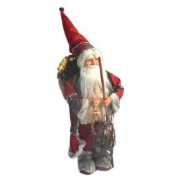 Декоративна фигурка - Дядо Коледа с чувал