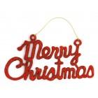 Комплект от 2бр украса за окачване - Merry Christmas