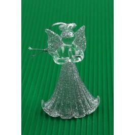 Комплект от 6бр декоративни фигурки за елха - ангелчета