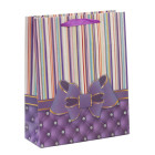 Подаръчна торбичка с брокат - панделка