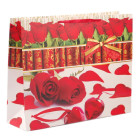 Цветна подаръчна торбичка - рози