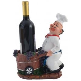 Поставка за вино - готвач с количка
