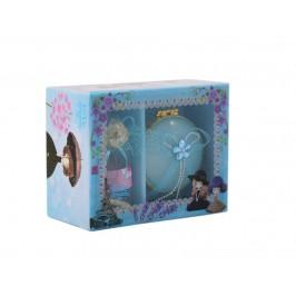 Подаръчен комплект от бижутерка и малко бурканче с късметчета и светеща топка