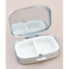 Сувенирна кутийка за хапчета с две отделения