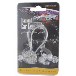 Автомобилен метален ключодържател - емблема на кола - Mercedes