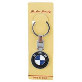Автомобилен метален ключодържател - емблема на BMW