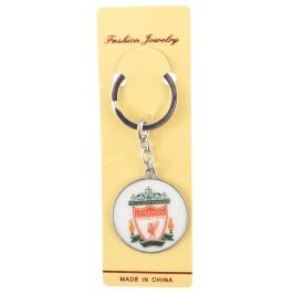Сувенирен метален ключодържател - емблема на футболен клуб - Liverpool
