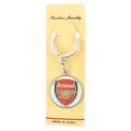 Сувенирен метален ключодържател - емблема на футболен клуб - Arsenal