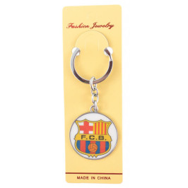 Сувенирен метален ключодържател - емблема на футболен клуб - Barcelona