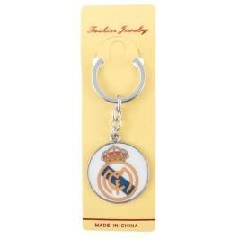 Сувенирен метален ключодържател - емблема на футболен клуб - Real Madrid