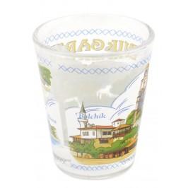 Сувенирна чаша за шот - забележителности от Албена