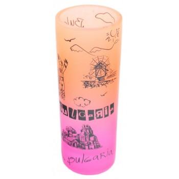 Сувенирна чаша за шот - забележителности от Несебър