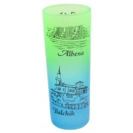 Сувенирна чаша за шот - забележителности от Албена, Балчик, Варна и Златни пясъци
