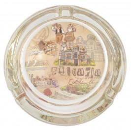 Сувенирен пепелник със снимка на забележителности от Българското черноморие