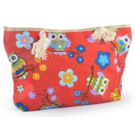 Лятна дамска чанта, изработена от текстил