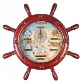 Сувенирен стенен часовник във формата на рул - 26см