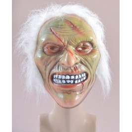 Карнавална маска - страшно лице с коса