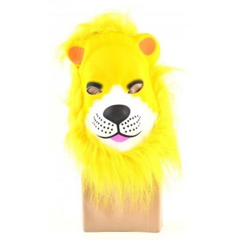 Карнавална маска на животно, изработена от PVC материал