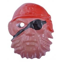 Забавна карнавална маска, изработена от PVC материал и ластик