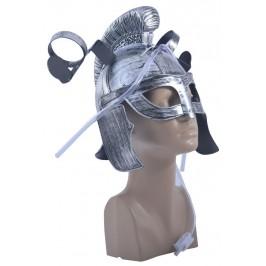 Парти артикул - рицарски шлем с поставки за две чаши, изработен от PVC материал