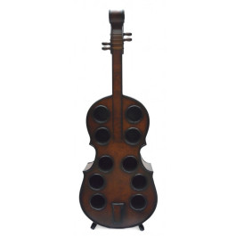 Декоративна поставка за вино във формата на цигулка