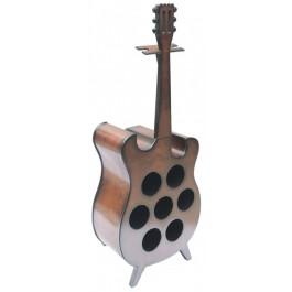 Декоративна поставка за вино във формата на китара