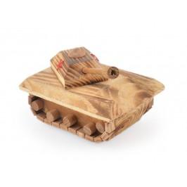 Сувенир от дърво - танк