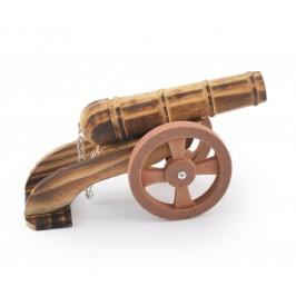 Сувенир от дърво - черешово топче, ръчна изработка