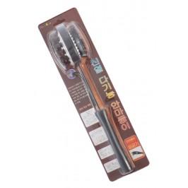 Двустранна четка за масаж с чесалка
