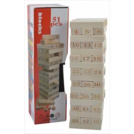 Сувенир от дърво - зарчета и кубчета с гравирани на тях цифри