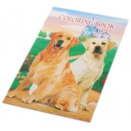 Книжка за оцветяване с 8 бр