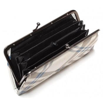 Елегантен дамски портфейл с елегантна закопчалка