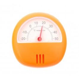 Кръгъл термометър с магнитен гръб и поставка