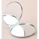 Сувенирно джобно огледало, изработено от метал