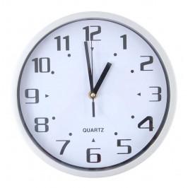 Стенен часовник с черни арабски цифри