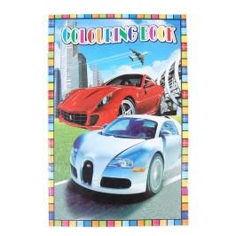 Книжка с 8 листа с картинки за оцветяване