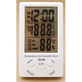 Дигитален термометър с влагометър