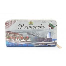Цветно портмоне от изкуствена кожа с удобна дръжка за китката - Приморско