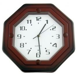 Стенен часовник с декоративна рамка - 34см