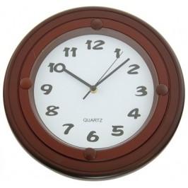 Стенен часовник с декоративна рамка - диаметър 32см