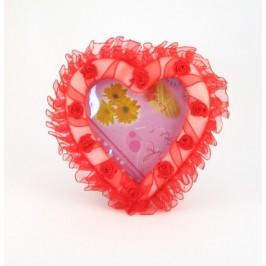 Сърце фоторамка - 13 см