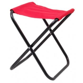 Сгъваем стол, носеща конструкция - метал, седалка - текстил