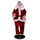 Декоративна фигура - Дядо Коледа с красив костюм
