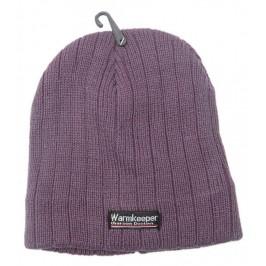 Цветна плетена мъжка зимна шапка